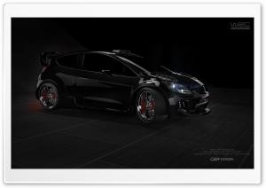 3D Modeling - Ford Fiesta - CS9 FX Design Ultra HD Wallpaper for 4K UHD Widescreen desktop, tablet & smartphone