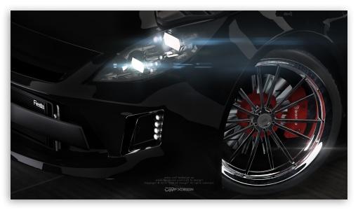3D Modeling - Ford Fiesta - CS9 FX Design ❤ 4K UHD Wallpaper for 4K UHD 16:9 Ultra High Definition 2160p 1440p 1080p 900p 720p ; Mobile 16:9 - 2160p 1440p 1080p 900p 720p ;