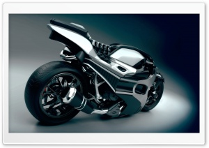 3D Motorcycle HD Wide Wallpaper for Widescreen