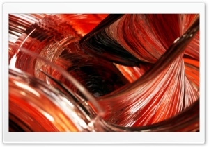 3D Reddish Glass Macro HD Wide Wallpaper for 4K UHD Widescreen desktop & smartphone