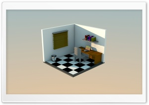 3D Room HD Wide Wallpaper for Widescreen