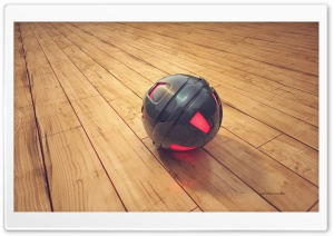 3D Sphere HD Wide Wallpaper for Widescreen