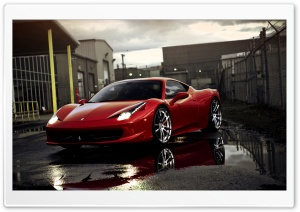 458 Italia HD Wide Wallpaper for 4K UHD Widescreen desktop & smartphone
