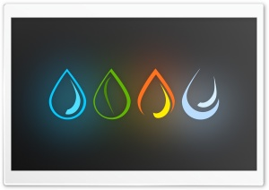 4 Elements HD Wide Wallpaper for Widescreen