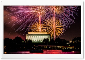 4th July - Washington DC HD Wide Wallpaper for Widescreen