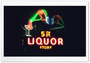 5th Street Liquor Store HD Wide Wallpaper for Widescreen