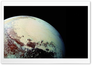 80k Pluto HD Wide Wallpaper for Widescreen