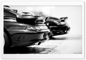 993 Porsche Turbo and 996 Porsche Turbo HD Wide Wallpaper for Widescreen