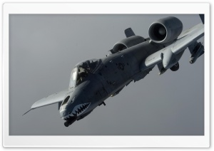 A-10 Thunderbolt II HD Wide Wallpaper for Widescreen