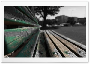 A Bench HD Wide Wallpaper for Widescreen