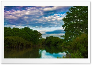 A Bend Of The Oto River In Okazaki, Japan HD Wide Wallpaper for Widescreen