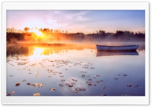 A Blazing Sunrise HD Wide Wallpaper for Widescreen