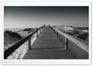 A Boardwalk HD Wide Wallpaper for Widescreen