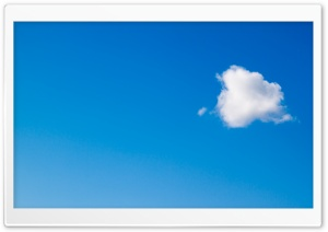 A Cloud HD Wide Wallpaper for 4K UHD Widescreen desktop & smartphone