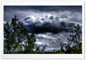 A Cloudy Day HD Wide Wallpaper for Widescreen