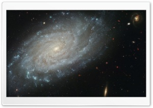 A Compact Galaxy Group HD Wide Wallpaper for Widescreen