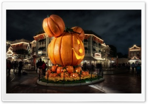 A Disney Halloween HD Wide Wallpaper for Widescreen