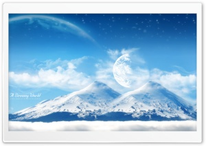 A Dreamy World Dualscreen 2 HD Wide Wallpaper for Widescreen