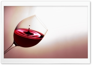 A Glass Of Red Wine HD Wide Wallpaper for Widescreen
