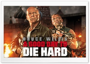 A Good Day to Die Hard 2013 HD Wide Wallpaper for 4K UHD Widescreen desktop & smartphone