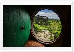 A Hobbit House HD Wide Wallpaper for Widescreen