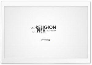 A Man Without Religion HD Wide Wallpaper for Widescreen