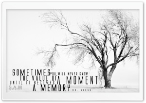A MEMORY HD Wide Wallpaper for 4K UHD Widescreen desktop & smartphone