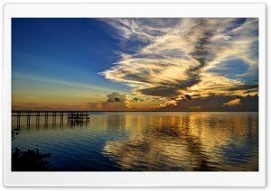 A Mid Summers Sunrise HD Wide Wallpaper for Widescreen