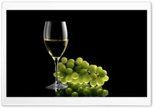 A Nice Glass Of Chardonnay HD Wide Wallpaper for Widescreen