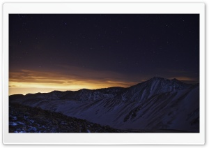 A Night Time View Of Torreys Peak HD Wide Wallpaper for Widescreen