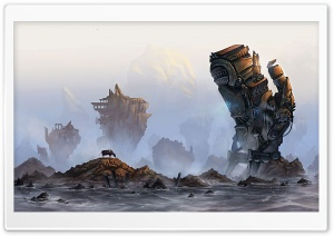A Robot Monster HD Wide Wallpaper for Widescreen