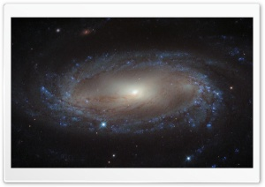 A Spiral Galaxy HD Wide Wallpaper for Widescreen