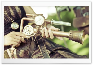 A Steampunk Themed Photo HD Wide Wallpaper for Widescreen