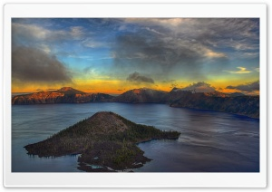 A View From Watchman Overlook HD Wide Wallpaper for Widescreen