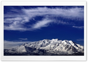 A View of Mt Timpanogos, Utah HD Wide Wallpaper for 4K UHD Widescreen desktop & smartphone