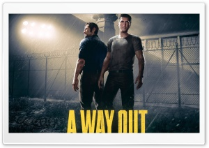A Way Out video game 2018 HD Wide Wallpaper for Widescreen