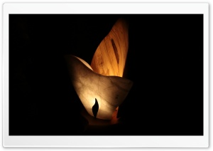 A Wooden Fire HD Wide Wallpaper for Widescreen