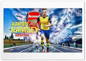 AARON RAMSEY ARSENAL HD Wide Wallpaper for Widescreen