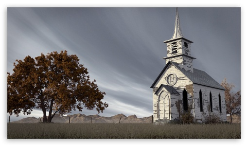 Abandoned Church 3D ❤ 4K UHD Wallpaper for 4K UHD 16:9 Ultra High Definition 2160p 1440p 1080p 900p 720p ; Mobile 16:9 - 2160p 1440p 1080p 900p 720p ;