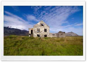 Abandoned House HD Wide Wallpaper for Widescreen