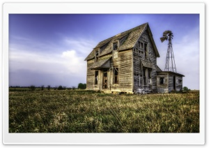 Abandoned House Summer HD Wide Wallpaper for 4K UHD Widescreen desktop & smartphone