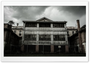 Abandoned Mental Asylum HD Wide Wallpaper for Widescreen