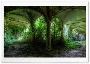 Abandoned Places HD Wide Wallpaper for Widescreen