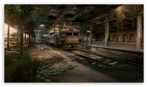 Abandoned Train Station ❤ 4K UHD Wallpaper for 4K UHD 16:9 Ultra High Definition 2160p 1440p 1080p 900p 720p ; Tablet 1:1 ; iPad 1/2/Mini ; Mobile 4:3 5:3 3:2 16:9 - UXGA XGA SVGA WGA DVGA HVGA HQVGA ( Apple PowerBook G4 iPhone 4 3G 3GS iPod Touch ) 2160p 1440p 1080p 900p 720p ;