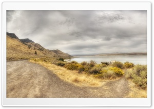 Abert Lake, Oregon HD Wide Wallpaper for 4K UHD Widescreen desktop & smartphone