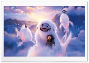 Abominable Movie Yi and Yeti Ultra HD Wallpaper for 4K UHD Widescreen desktop, tablet & smartphone