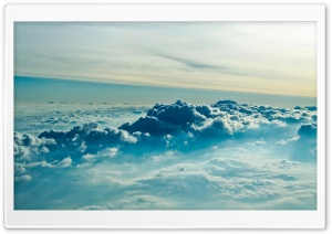 Above Clouds HD Wide Wallpaper for Widescreen