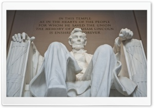 Abraham Lincoln Memorial Washington D.C. HD Wide Wallpaper for Widescreen