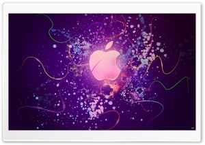 Abstract Apple HD Wide Wallpaper for Widescreen