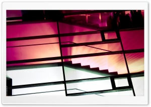 Abstract Architecture Photography (Pink) HD Wide Wallpaper for Widescreen
